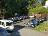 Parkplatz Motorrad